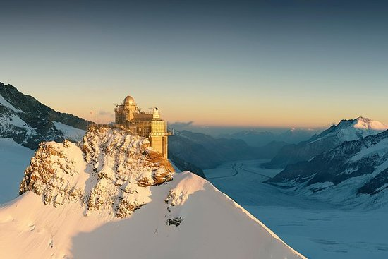 Jungfraujoch day tour com tourguide...