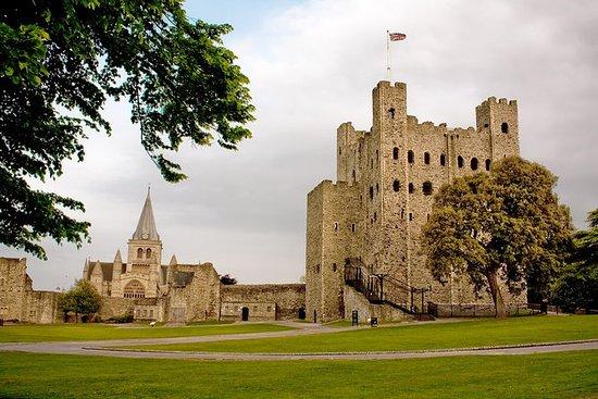 Private Kent slott og hvite klipper i...