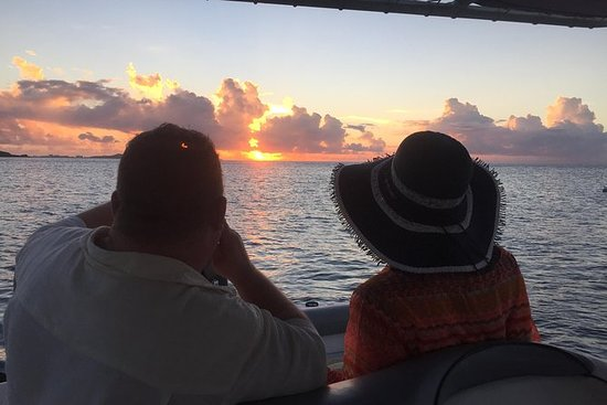 Privat Sunset Cruise i St Martin