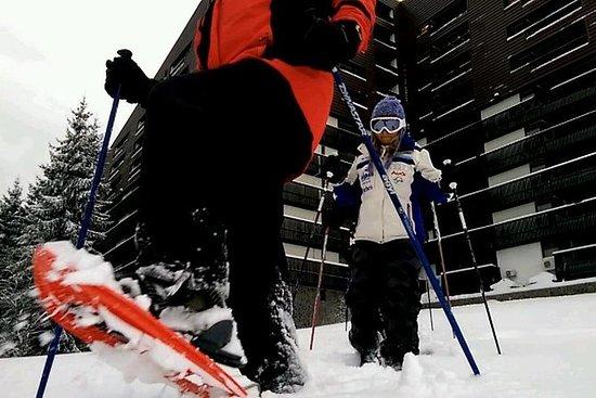 Schneeschuhtour in der Nähe von Brasov