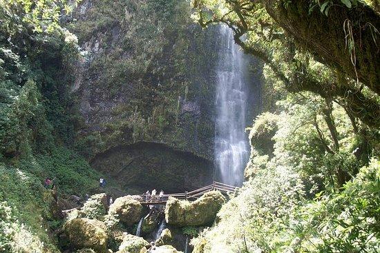 Cataratas El Chorro y lago Busa
