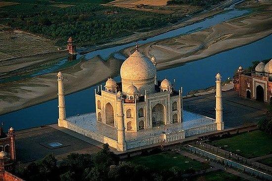 Viagem de um dia de 12 horas até o Taj...