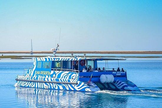Boat trip from Faro to Ilha Deserta...