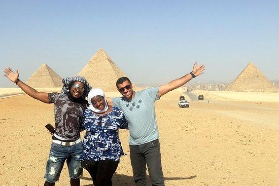 Ganztägige Tour Pyramiden - Sakkara...