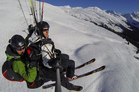 Davos Ski und Fliegen