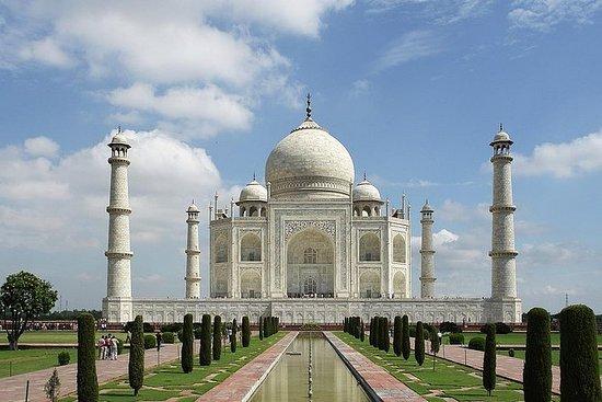 从德里开车的泰姬陵一日游
