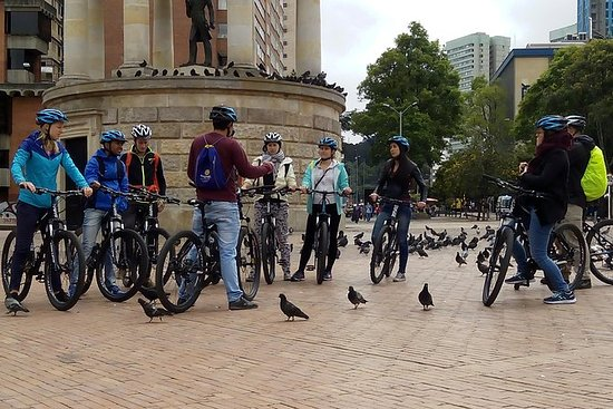 Bike Tour in Bogota Historical Sites...