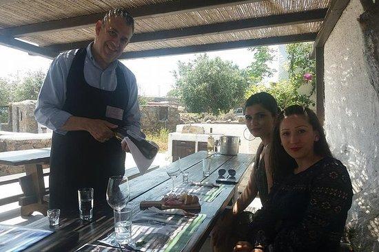 在Mykonos享用半日葡萄酒品尝之旅