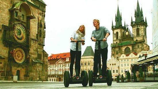 Prague Segway fun 120 min Private Tour