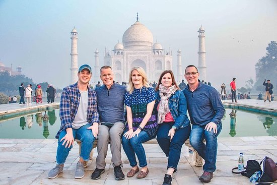 All Inclusive Private Sunrise tour of Taj Mahal from Delhi by Car: Private Sunrise Taj Mahal & Agra Tour from Delhi with transfers