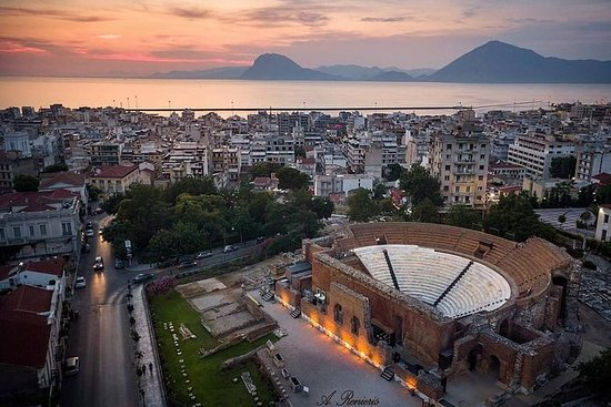 Patras sightseeing tour from Aldemar...