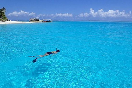 Barco privado: Tour de la laguna Bora...