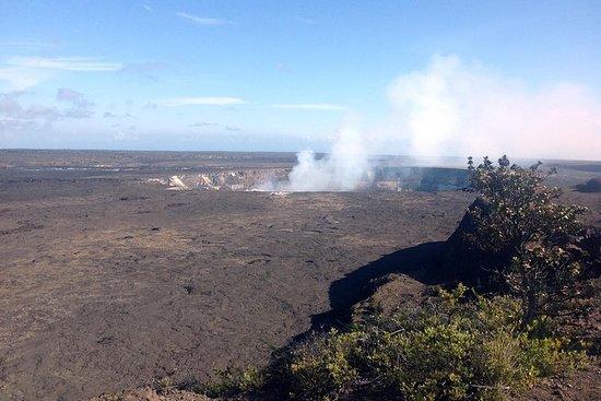 Cumbre de Kilauea a la orilla de Hilo...