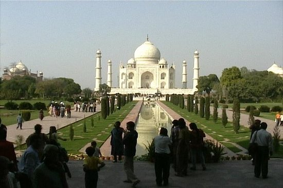Viagem de um dia a Agra e Taj Mahal...
