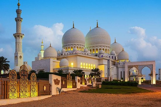Abu Dhabi Sheikh Zayed Mosque...