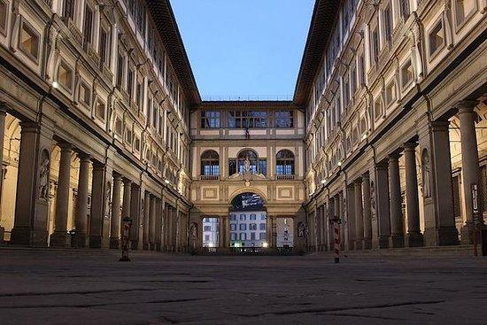 Snabbinträde med guide till Uffizierna