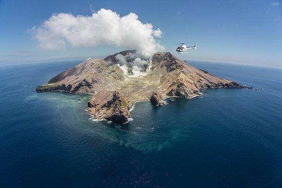 直升机白岛和塔拉威拉山双火山登陆