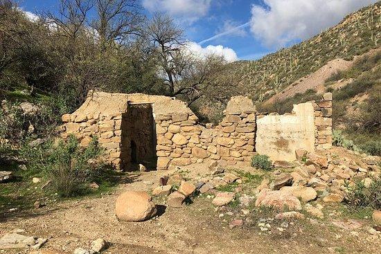 UTV 4小时亚利桑那沙漠引导历史悠久的野外游览