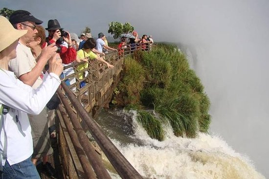 Cataratas do Iguaçu do lado argentino...