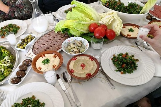 Autentica lezione di cucina libanese