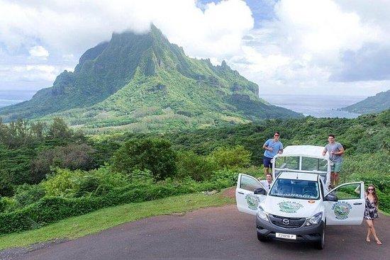 Tour privato Morning Moorea 4WD con
