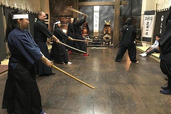 Samurai Experience at Honjin Dojo in...