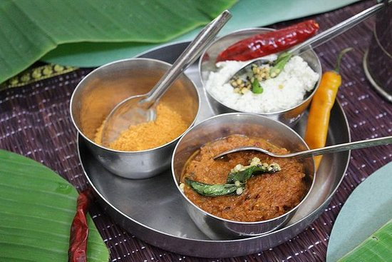 Traditional Tamil Brahmin Vegetarian...