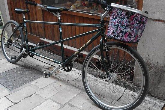 Alquile una bicicleta tándem