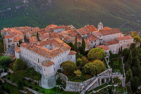中世纪的普罗旺斯城和摩纳哥的海盗小镇Gurdon之旅
