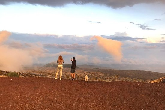 Etna Sunset private car and guide