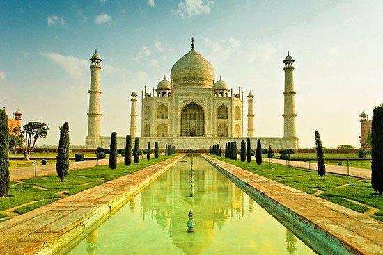 Agra Taj Mahal no Sunrise Day-Tour de...