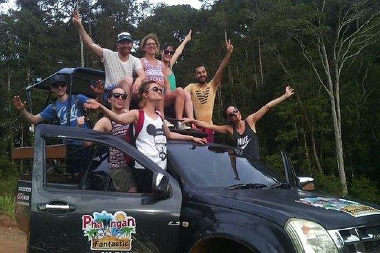 Viaje fuera de carretera en Koh...