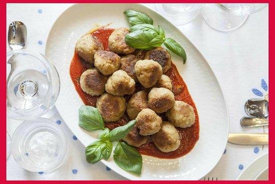 Impara l'italiano e cenare in casa di