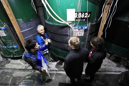 飛騨の酒醸造所訪問と試飲ツアー