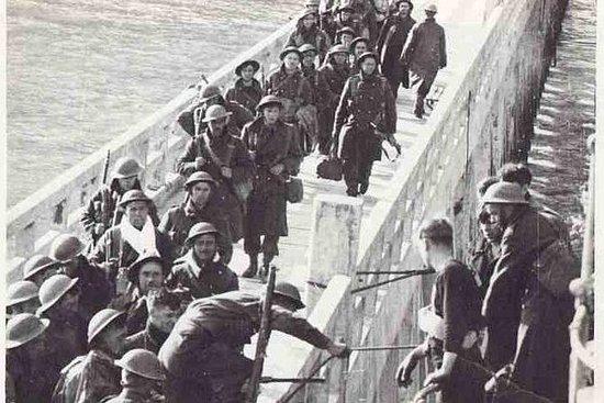 Privat kamp av Dunkerque Operation...