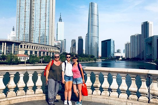 4-timers privat Tianjin Riverside tur...