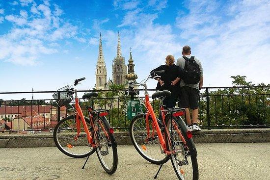 Klassische Zagreb-Radtour