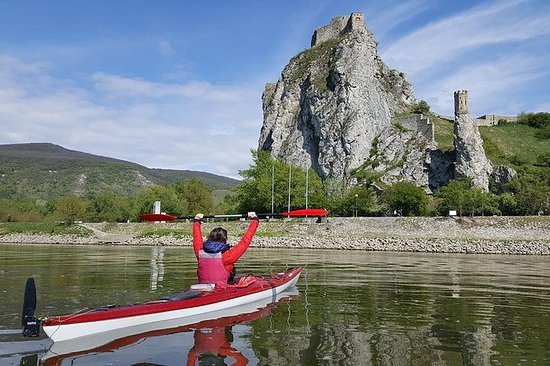 Kanufahrt auf der Donau ab Wien und...
