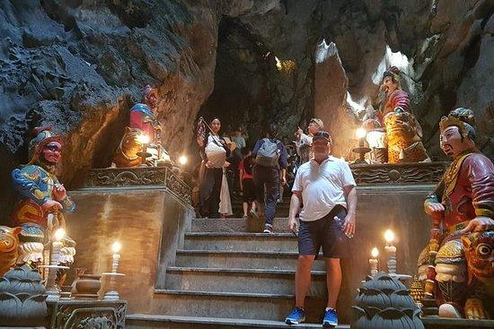 Sanctuaire privé et montagnes de marbre...