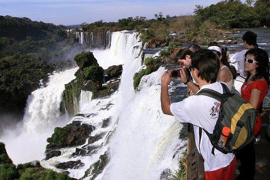 Ganzer Tag Iguassu Falls Beide Seiten...