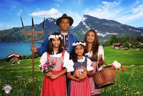 Suisse habille photo fun