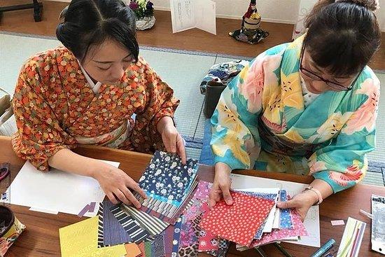 Origami en kimono et promenade autour...