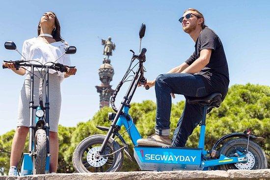 Tour Montjuic eScooter