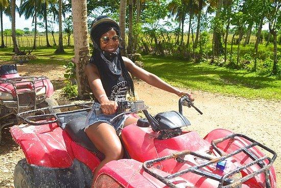 从蓬塔卡纳出发的ATV之旅