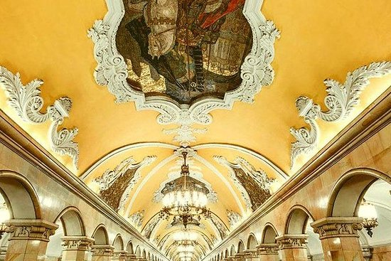 Les 10 plus belles stations de métro de Moscou : MOSCOW METRO PRIVATE TOUR