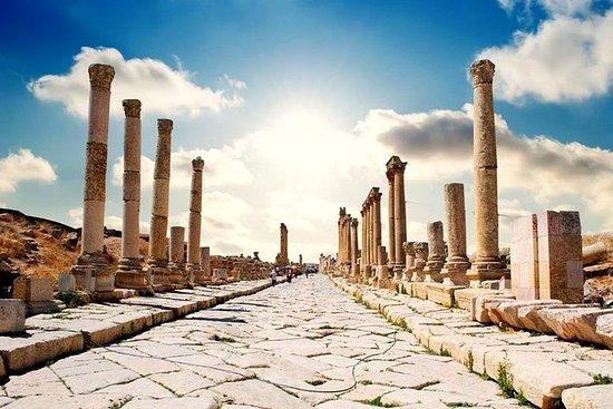En dagstur til Jerash og Ajloun og...