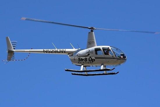 Uma hora de passeio de helicóptero