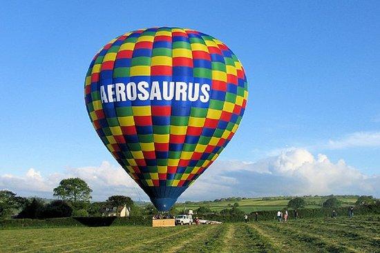 Vuelo en globo aerostático desde Templecombe - Dorset