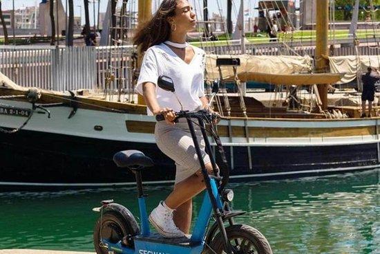 GPS guidet Sagrada Familia eScooter...