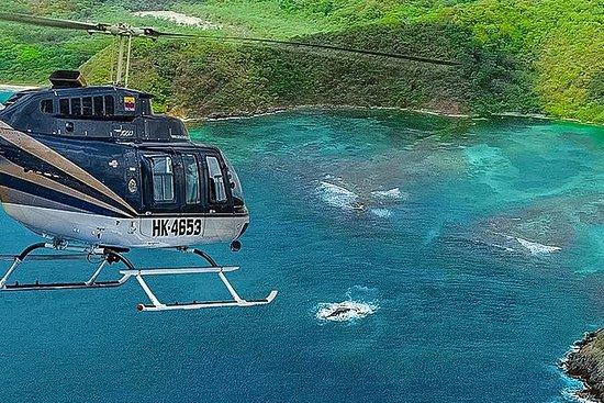 Passeio de Helicóptero Cartagena...